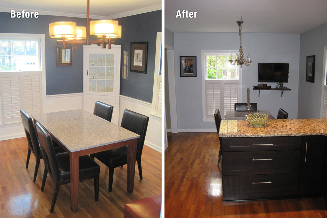 Kitchen Remodel Before And After Wall Removal Four Blank & Ten Design Group  Ranzino  Shoudy Project Gallery
